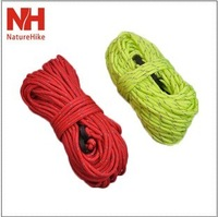 Naturehike reflective tent windproof rope tentorial rope risers 4x 4 16 meters tentorial