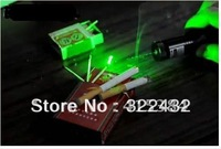 Free Shipping New Arrival Wholesale 302 1000mw 532nm Green LaserPointers Pen (Black)
