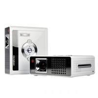 LED Home Theater Projector 230 Lumens 1024*768 Resolution Support 1080P