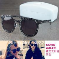new arrive 2013 wholesale  retail  women metal  sunglasses -- original designer sunglasses superduper critter  free shipping