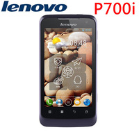 Free shipping Multinational language lenovo P700i 4.0:touch screen WIFI GPS MTK6577 dual core RAM:512 ROM:4GB dual sim card