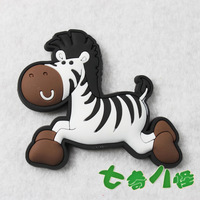 2014 Hot selling refrigerator stickers magnets cartoon animal horse magnet toy  MOQ USD15 Support Mixed Batch