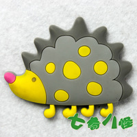 Animal refrigerator stickers magnets early learning toy hedgehog  MOQ USD15 Support Mixed Batch