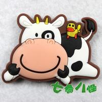 Cartoon refrigerator magnet magnets cow  MOQ 5PCS Support Mixed Batch