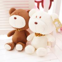 Hot gift * * plush teddy bear plush doll doll female birthday bear  [ Happy bear ]