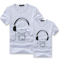 2013 summer popular music lovers print short-sleeve T-shirt  t shirt tee