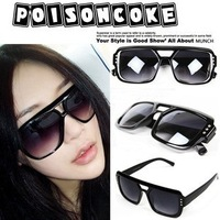 Punk big box fashion vintage sunglasses female fashion male sunglasses