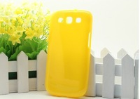 10 pcs/lot New Candy Color soft TPU case For Samsung galaxy s3 i9300, for Galaxy S3 TPU case