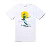 Retail 2013 woman image skateboard print men male gift cotton short sleeve surf High quality Circa sport t shirt +free shipping