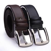 Jamresvck fashion genuine leather crocodile pattern male cowhide belt fashion casual belt