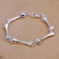 SPCH267 Free Shipping Fashion Bracelet Silver Jewelry jewellry  Charm Tag Chain Bracelets Brand New