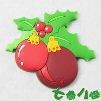 Christmas gift refrigerator stickers magnets christmas blackboard stickers  MOQ 5PCS MIX