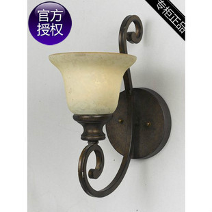 Huating BOSS w fashion 1 brief american style iron wall lamp antique lamp(China (Mainland))