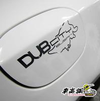 Fashion refires dub vip hf jdm reflective stickers motorcycle car stickers car sticker b4253