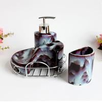 Ceramic bathroom suite bathroom four piece set fashion modern fashion