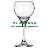 Libbey glass transparent water cup red wine cup hanap 192  FREE SHIPPING
