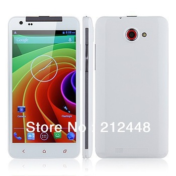 "Case free! Star x920q white MKT6589 quad core, 5.0"" QHD screen,960*540,1GB RAM+4GB ROM,Dual SIM,GPS,Android 4.21, Free ship"