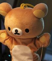 Easy bear puppet gloves dolls plush doll dolls plush toy