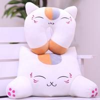 Natsume friends account Sau Yuen, Mr. meow meow cat pillow cushion plush toy doll gift teacher