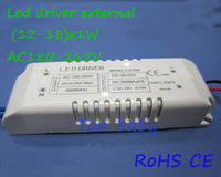 Free shipping 20pcs/lot constant current led driver (12-18W)x1W 180-265V led power supply for led ceiling light RoHS CE