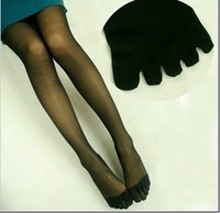 Stockings bulk five fingers stockings toe pantyhose legging stockings toe