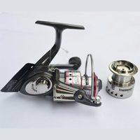 Free shipping Trulinoya MT2000 Spinning Fishing Reel 8BB, 2pcs line cup