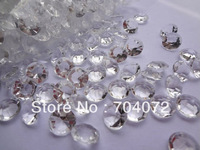 wholsesale 1000pcs Acryle Clear 4 Carat 10mm Diamond Confetti Wedding Reception Table Scatter Decoration