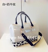 2013 New Arrived  Hot selling candy bag  women's PVC  jelly handbags fashion beautiful high quality bag C014