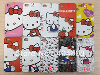 10pcs/lot Hello Kitty cell phone case for iphone 4 4s 4g cute hard back Cover shell skin  high quality lovely cell phone case
