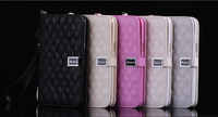 WT Luxury Leather Flip Case Cover For Samsung Galaxy Note 2 II N7100