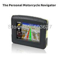 "3.5"" waterproof(IP54) bluetooth 4GB flash MOTO/Bike navigator samsung chip 128MB bluetooth gps M3505"