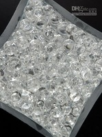 2013 Clear Crystal Water Gel Beads for Wedding Party Decor Crystal Soil Pearls Vase Filler Centerpieces