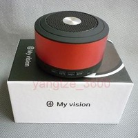 Portable Bluetooth Metal Wireless Mini Speaker support TFCARD Handsfree Mic