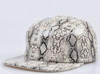 2013 new arrival snake pattern hats baseball cap hiphop cap hip-hop cap flex fit flat brim caps Snapback Baseball bboy k-pop