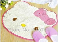 2013 Hot Selling cute kitty carpet door mats HELLO KITTY bedroom carpet household carpet bed pad 5pcs/lot free shipping