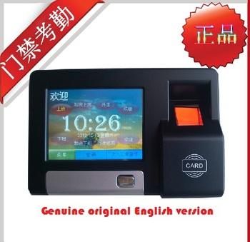 Biometric Fingerprint Touch Screen TCP/IP/RS485 Access Control EM reader Time Attendance door lock pin code