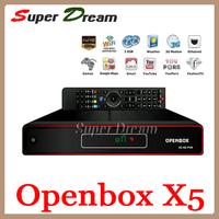 Original Openbox X5 Full HD 1080 Digital Satellite Receiver support Youtube Gmail Google Maps Weather CCcam Newcamd freeshipping