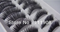 Free shipping,THICK DIY False eyelashes handmade Lashes Fake artificial eyelash fashion eyewinker as Makeup product.