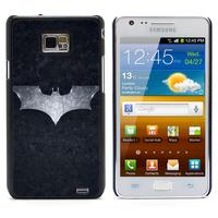 Batman  Aluminum Metal&Hard Plastic Back Case Cover For Samsung I9100 Galaxy S2 I9100/I9105 Plus (S2-61)