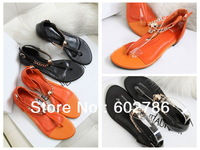 Free Shipping 2013 Fashion Summer brand Flat Sandals For Women Ladies Casual Shoes Platform Sexy Ankle Strap