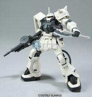 Free shipping Bandai HGUC 107 MS-06F-2 Zaku II F2 Gundam model building toys 1/144