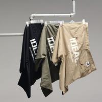 Maxhung men's plus size clothing ideal large print shorts plus size plus size trousers fat