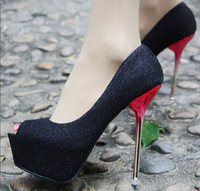 Lady's Sexy High Heels,peep toe sweetness high heels,women's pumps for weddings,sandals Eur Size 34-43(ss-105)