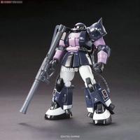 Free shipping Bandai HGUC 151 MS-06R-1A ZAKU II Gundam model building toys 1/144