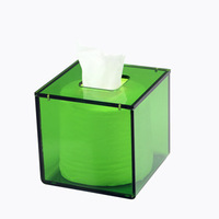 Acrylic tissue box fashion home box bathroom paper pumping box