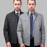 2013 SEPTWOLVES jacket men's clothing business casual stand collar jacket male spring and autumn thin outerwear
