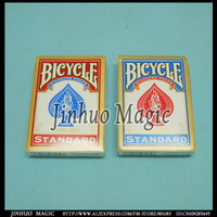 Free shipping Magic bicycle playing cards magic tricks-24pcs/lot-for magic card wholesales