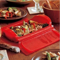 Free Shipping 1PCS silicone Steaming Bowl of bento lunch oven Bowls
