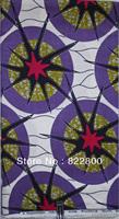 Free shipping! 6 yards party cotton,African Super wax printed fabric,super  wax,dutch real wax,ankara wax,S632