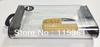 Hottest Crystal Box for iPhone Case, Plastic Package for Samsung Case, 150pcs/lot, DHL free shipping!